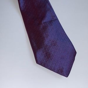 Thomas Pink tie London silk purple woven EUC